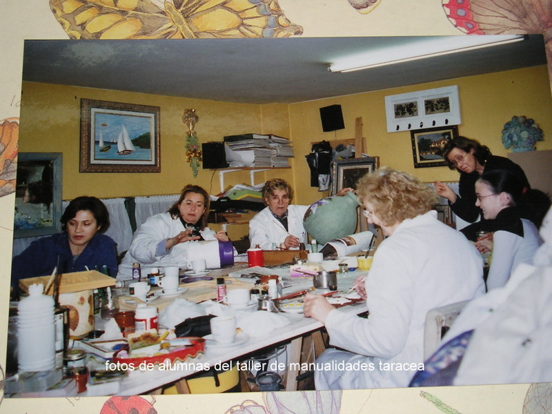 Manualidades manualidades taracea - Clases de manualidades en madrid ...
