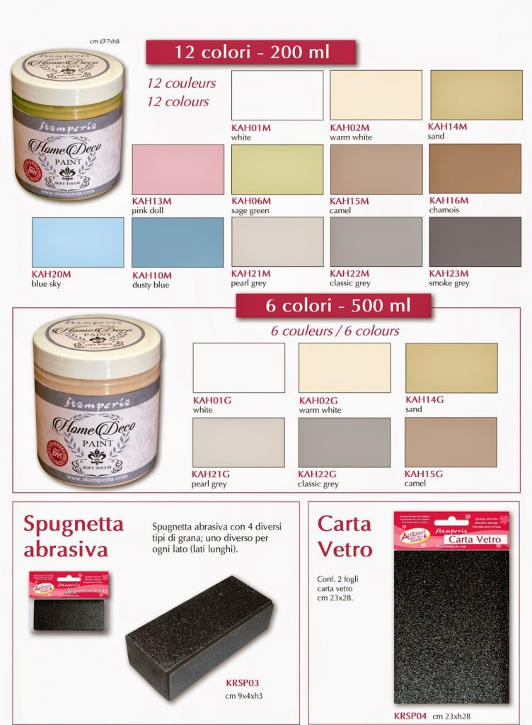 2 PINTURA CHALKY Home Deco Paint 110 ml